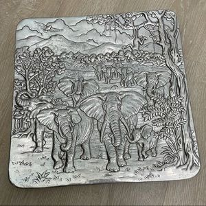 Collectible Arthur Court 1993 African Motif Plate